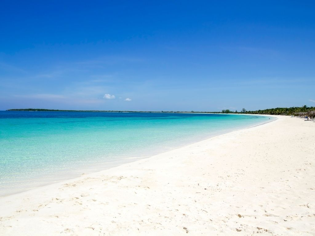 Playas de Cayo Santa Maria