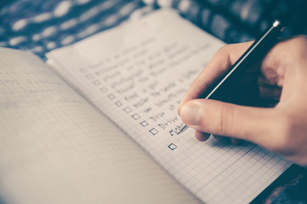 Lista de detalles a planificar para tu viaje de novios