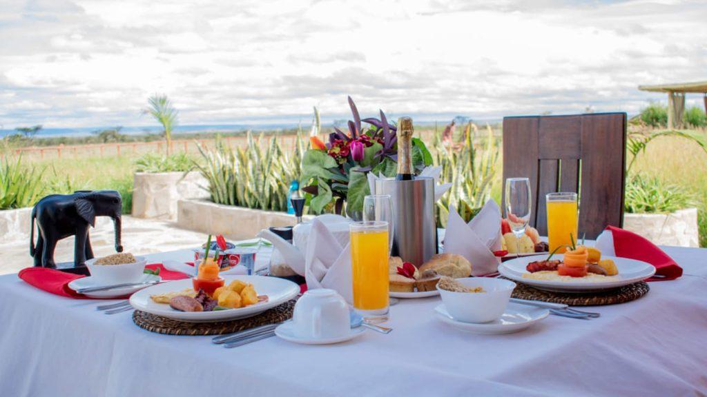 Desayuno en Lodges