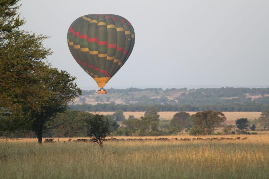 Safari en kenia globo