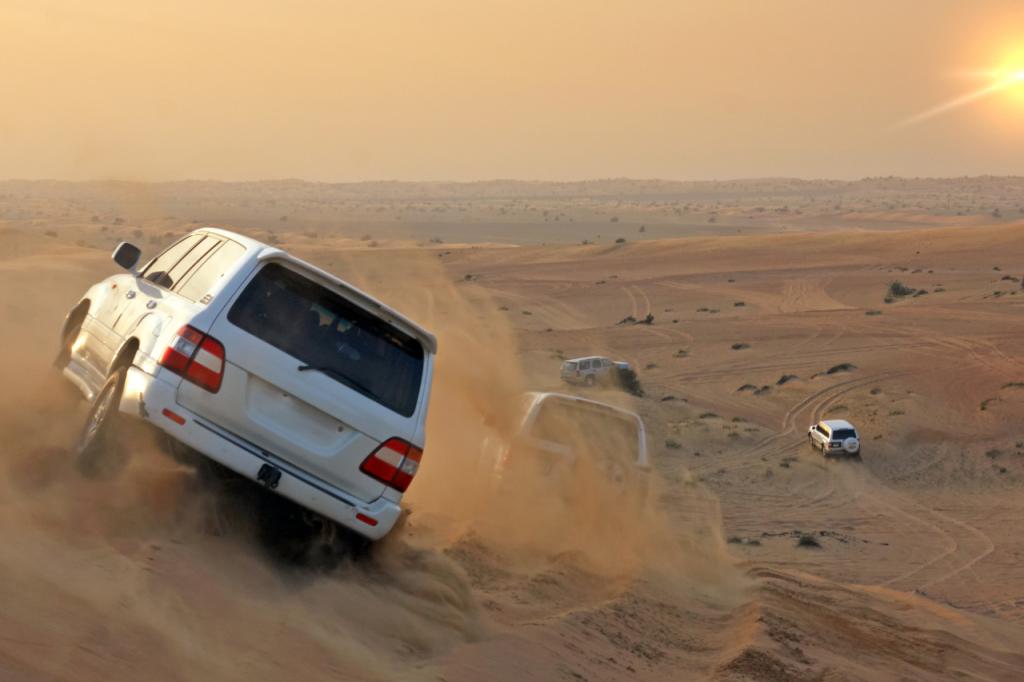 Safari en 4x4 en el desierto