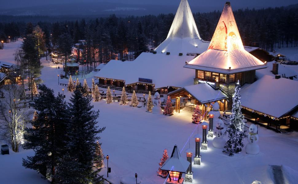 Laponia destino de frio en diciembre
